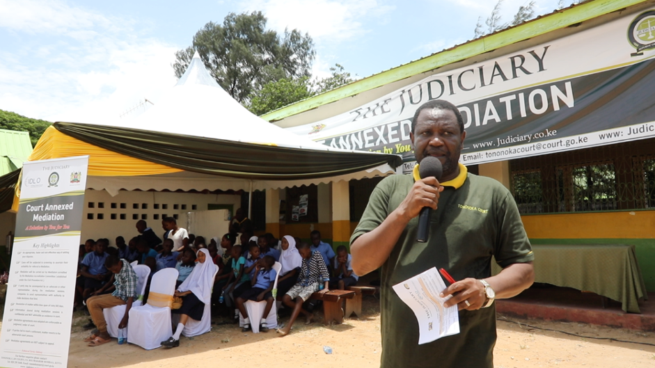 """Hon. Justice Ogola, Presiding Judge at the Mombasa Law Courts, reflected on the changing attitudes within the legal profession towards Court Appointed Mediation. """"As Justices we have many converts. But we have many in the legal profession who are yet to be converted""""."""